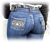 Buttocks jeans